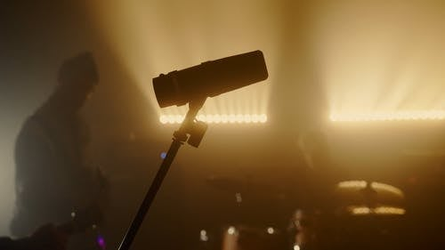 MIcrophone in the Stage