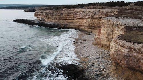Waves Splashing in the Coast