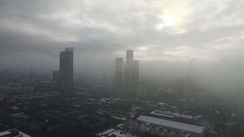 Aerial Shot of a City