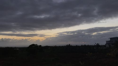 Time Lapse Video of Clouds Moving