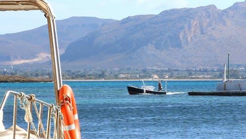 Boats on Blue Sea