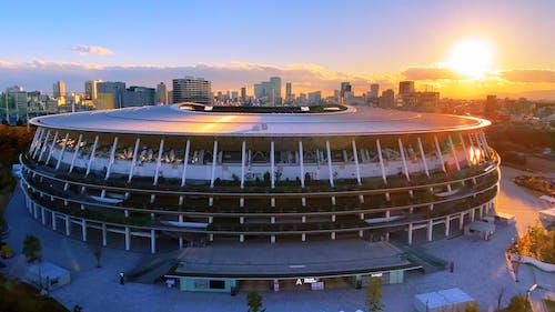 Exterior View of Japan National Stadium