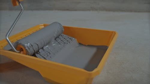 Close Up of Paint Roller