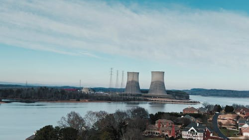 View of the Nuclear Power Plant