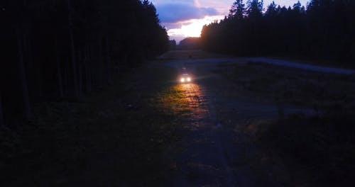Car Driving in the Dark