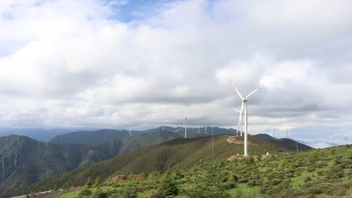 Time-Lapse of the Windmills