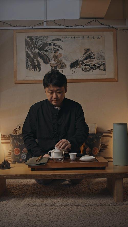 Man Making a Tea