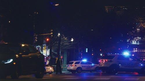 Police Patrols in the Street