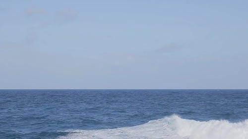 Footage Of Waves In The Ocean