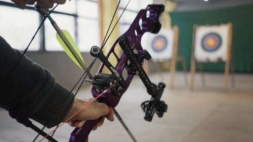 Men Doing Archery