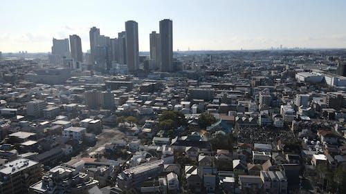 Aerial Footage Of Kawasaki Todoroki Stadium