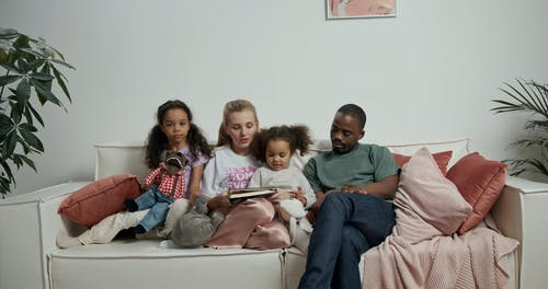 A Family Bonding at Home