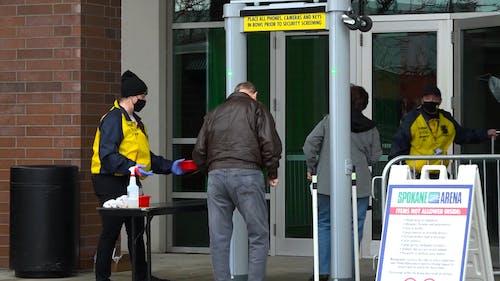 Security Control at Spokane Arena Entrance