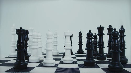 A Life Size Chess Pieces