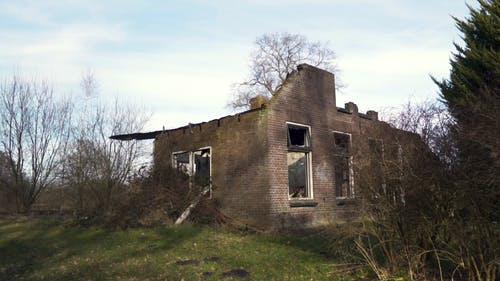 Remains of Abandoned House