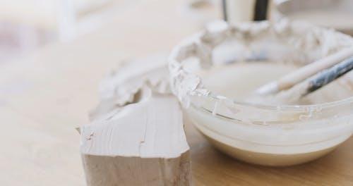 Close-Up Video of Sculpting Tools