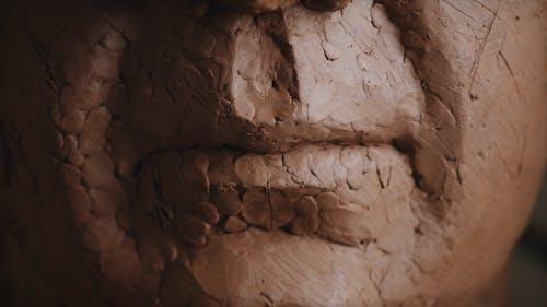 Closeup of Clay Sculpture