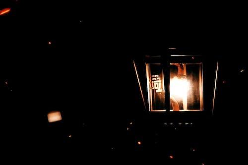Close Up View of the Kerosene Lamp