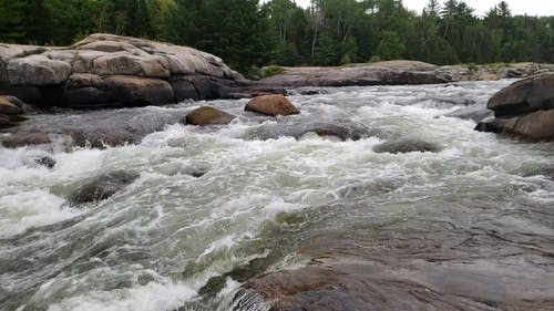 A Video of Rushing Water
