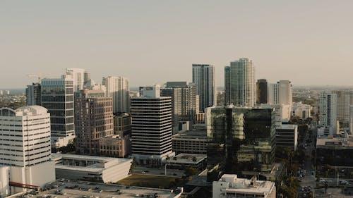 Aerial Footage Of Urban Area