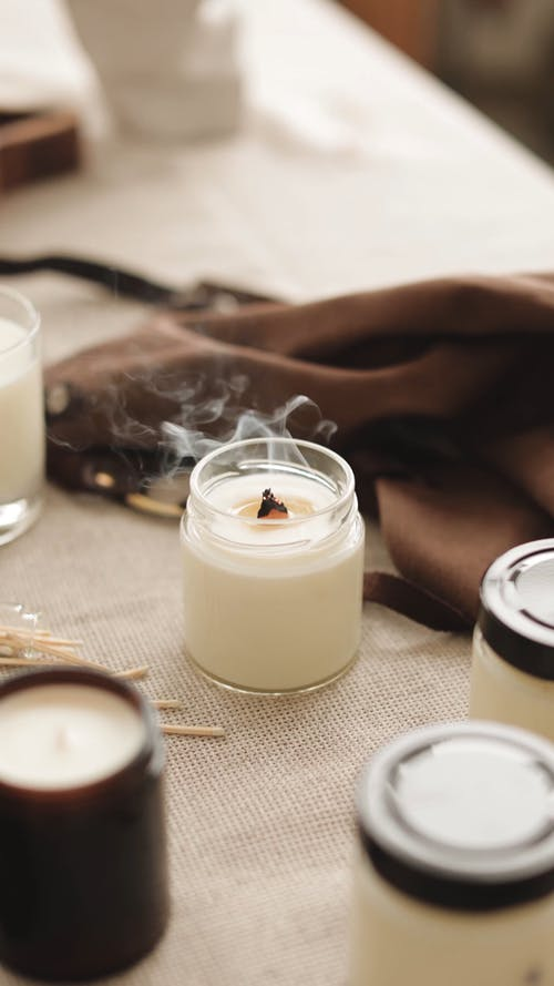 Burned Out Candle