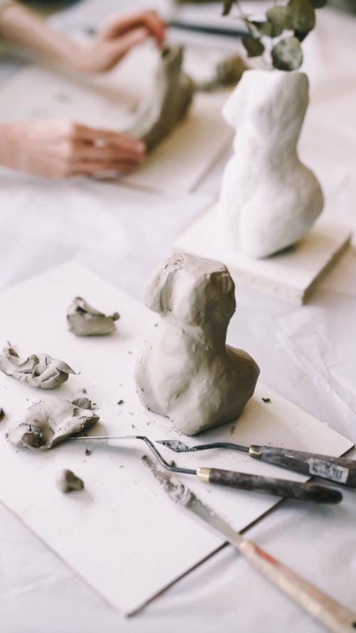 An Unfinished Sculpture