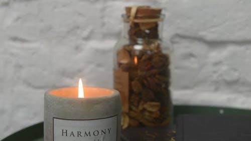 Candlelight Panning Shot