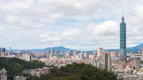 Time Lapse Video of Taiwan Skyscraper