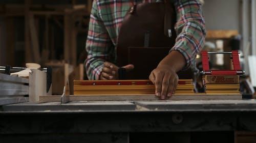 Carpenter in a Workshop