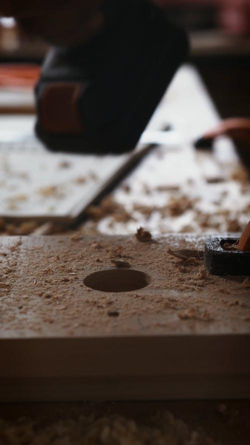 Using Forstner Drill Bit on Wood