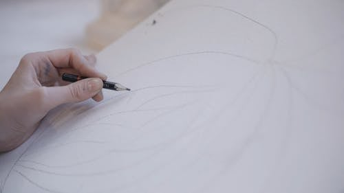 A Person Drawing