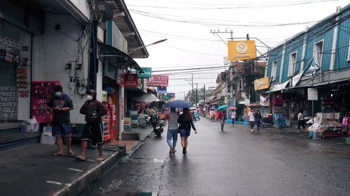 A Busy Street in Philippines