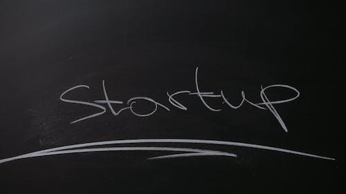 Startup Written on a Blackboard