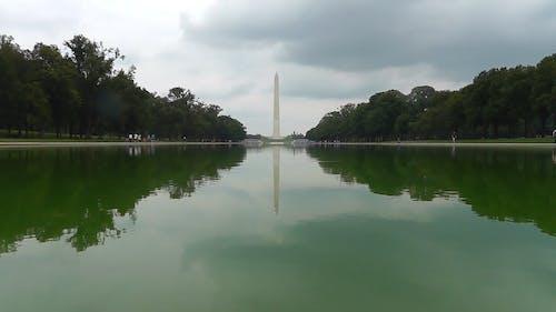 Wide Angle Shot of Washington DC