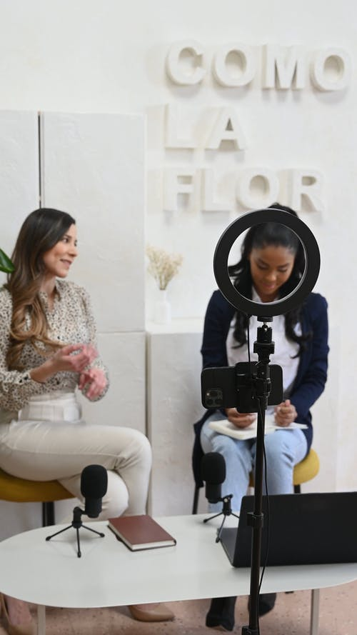 Women on an Interview Session