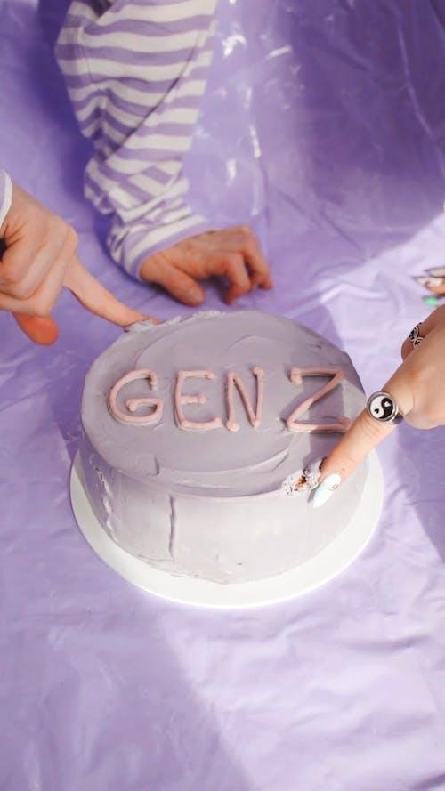 A Gen Z Cake