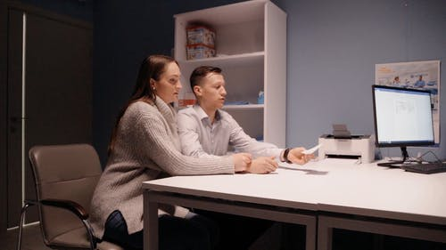 A Couple Having a Doctor's Appointment
