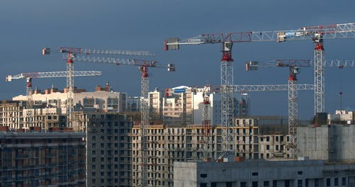 Time Lapse Video of Buildings Under Construction