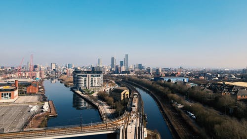 Aerial Video Collections of Salford City