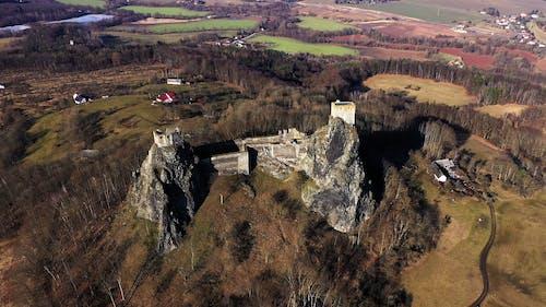 Aerial Footage of Trosky Castle
