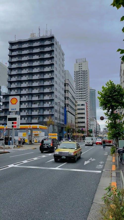 Traffic In Japan Roads
