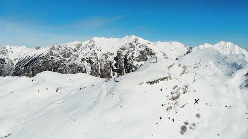 Drone Shot of Cortina Ski Resort