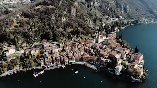 Aerial Footage of Lakeside Village