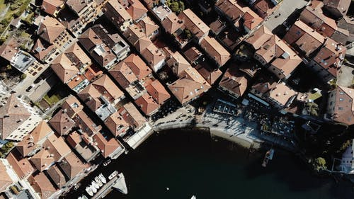 Aerial Footage of a City