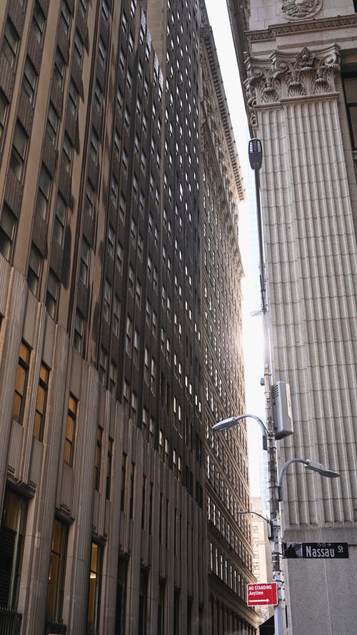 Low Angle Shot of a High-Rise Building