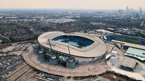 Drone Shot of Etihad Stadium