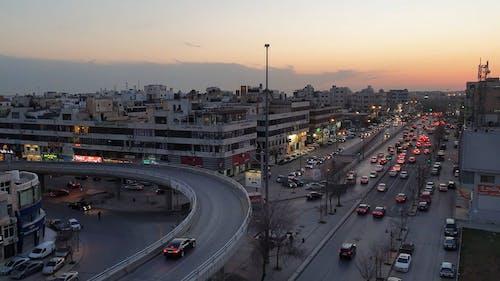 Footage of an Urban Traffic
