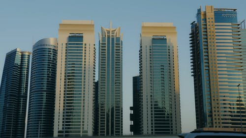 Footage of Tall Buildings