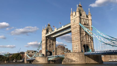 A Beautiful Scenery of the Tower Bridge of London