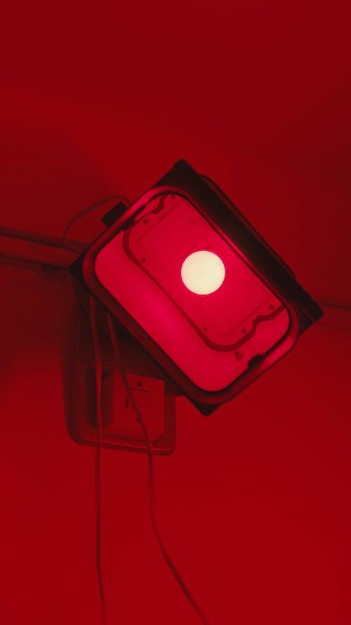 A Darkroom Red Safelight